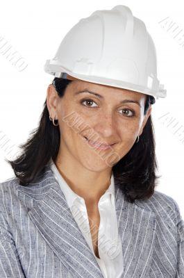 attractive happy architect