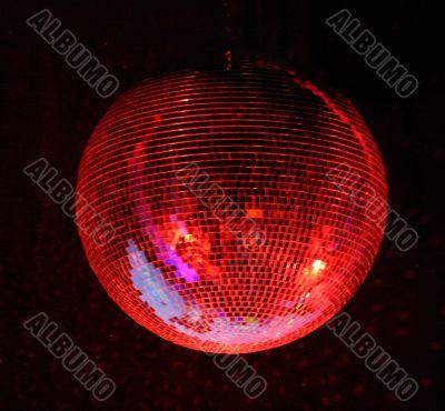 disco seiling lighting mirror-ball