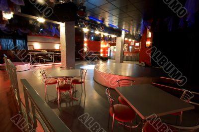 modern night club