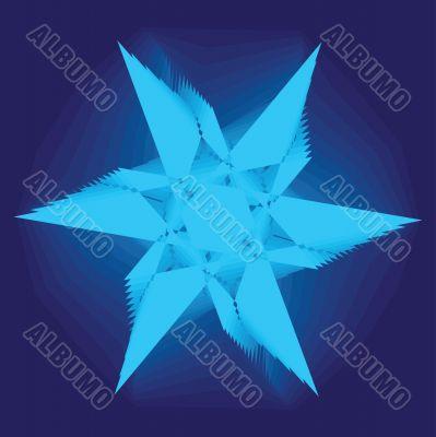 Asymmetrical geometrical patterns
