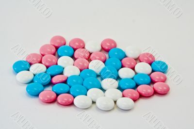 Tablets vitamins of a pill