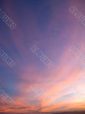 Sunset in Las vegas 4