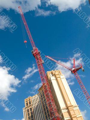 Construction cranes, Las Vegas. 2