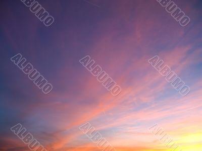 Sunset in Las vegas 5
