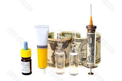 medicin and money