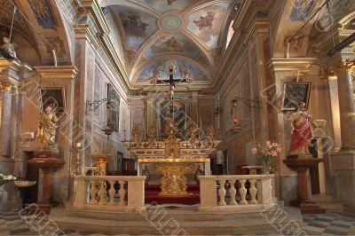 Magnificent interior.