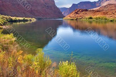 The river Colorado.
