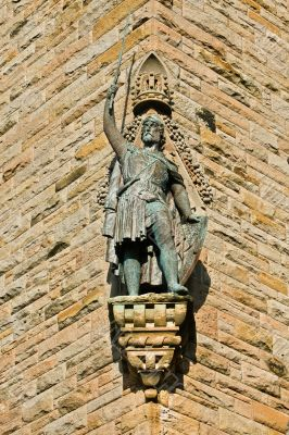 National Wallace Monument statue