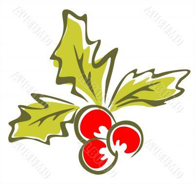 ornate holly berry
