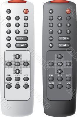 Remote control the TV.