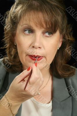 Lip Gloss Businesswoman 1