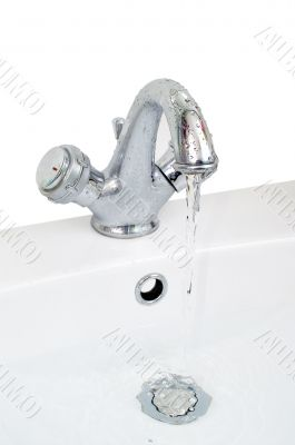 Tap and wash-basin