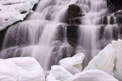 Winter Bond Falls