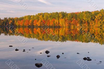 Autumn Moccasin Lake
