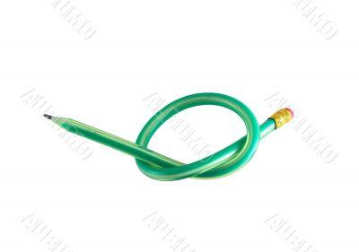 Green flexible pencil