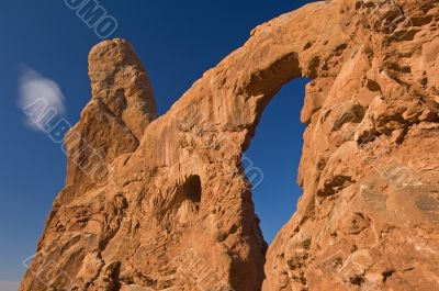 Turret Arch and Cloud