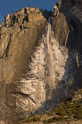 Winter Upper Yosemite Falls