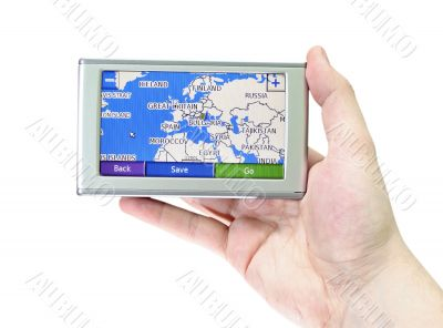 GPS screen