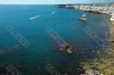 coastline cliffs