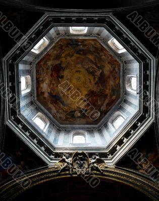 Ceiling in Catholic Church