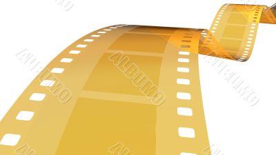 35 mm gold film in white 1