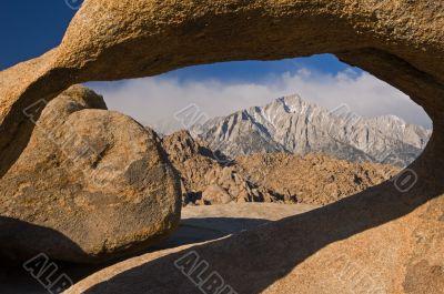 Stone Arch Eastern Sierrra Nevada
