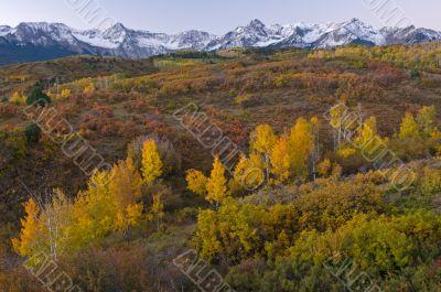 Autumn Colorado Divide