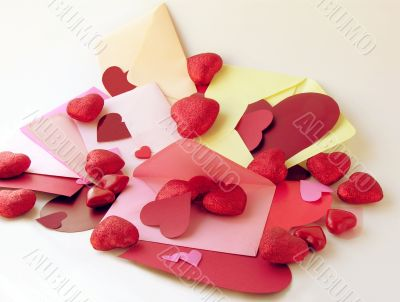 love letters in Valentines Day