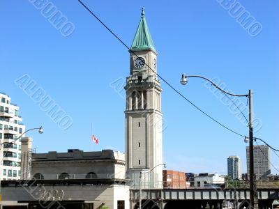Toronto old street-car station
