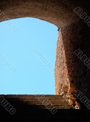 Stairway at Ostia Antica