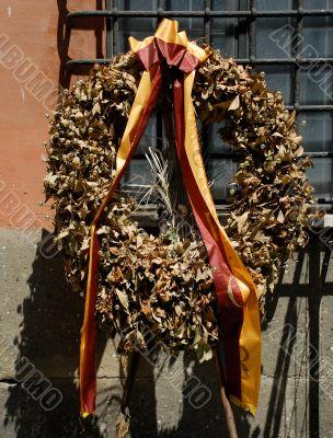 Memorial Day Wreath, Rome