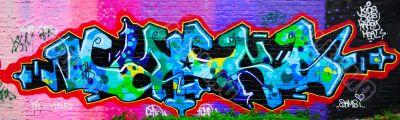 Amazing colorful graffiti
