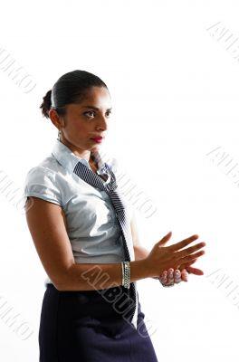 Assertive woman