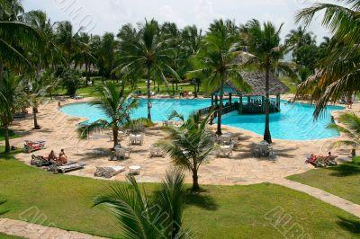 hotel in Kenia, Africa