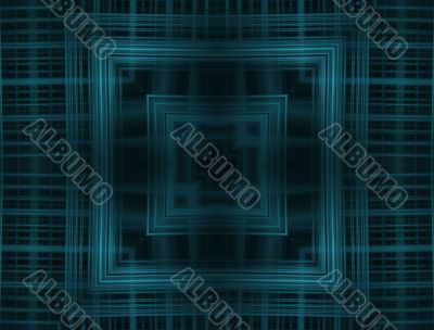 Digital Abstract Background - Geometric Weave
