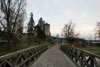 Olavinlinna, medieval castle in Savonlinna, Finland