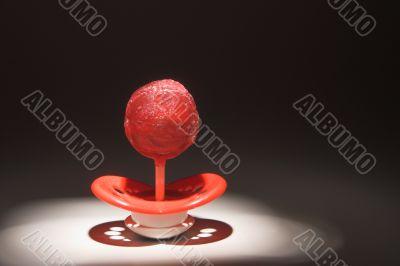 Lollipop Pacifier
