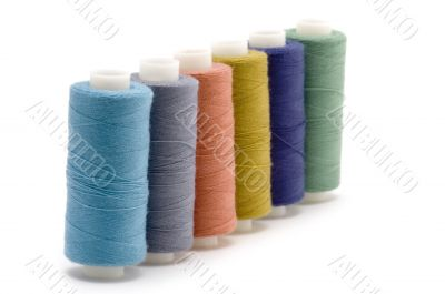 Four spool of thread