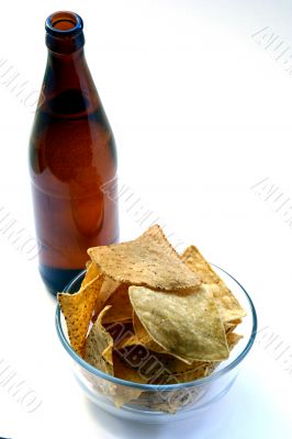 Beer Bottle and Unhealthy Eating