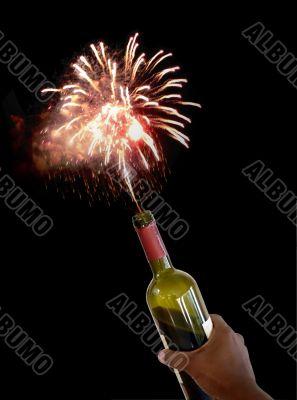 new years wine