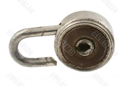 old ruined padlock