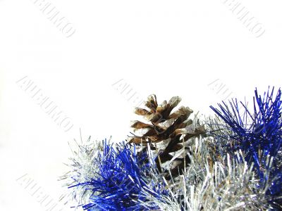 Christmas and New Year`s ornament
