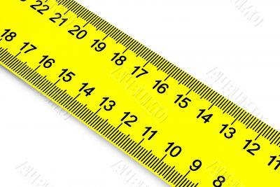 Measurement of a diagonal.