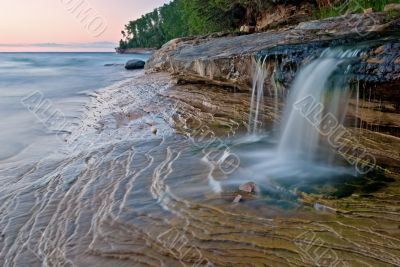 Cacade Pictured Rocks