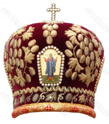 mitre - solemn headgear of the orthodox bishop