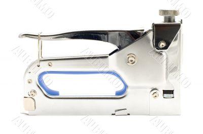 furniture stapler on white
