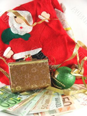 Christmas and New Year`s still-life