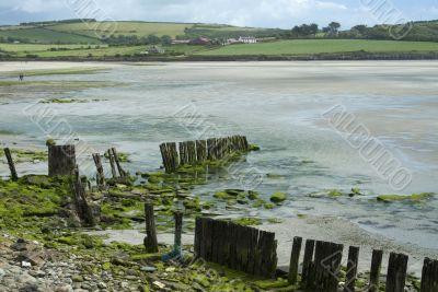 Southern Ireland beach