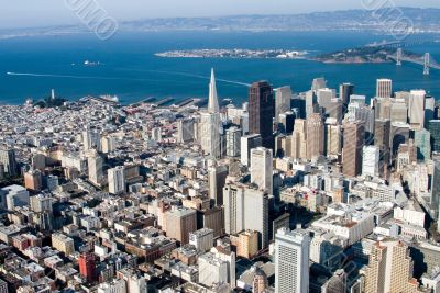 Downtown San Francisco, California