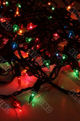 Multi-Colored Xmas Lights